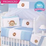 KIT BERÇO LEÃONARDO 10 PEÇAS