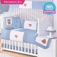 KIT BERÇO MIMOS 10 PEÇAS