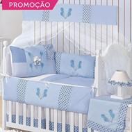 KIT BERÇO PATCH URSINHO 10 PEÇAS