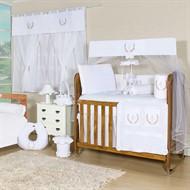 Quarto para Bebê Sem Cama Babá New Provençal Branco
