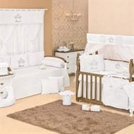 Quarto para Bebê Sem Cama Babá Princesa Luxo