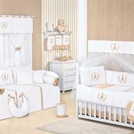 Quarto para Bebê Sem Cama Babá Realeza Palha
