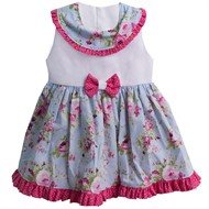 Vestido para Bebê Jardim