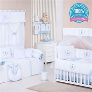 Quarto para Bebê Realeza Azul Bebê
