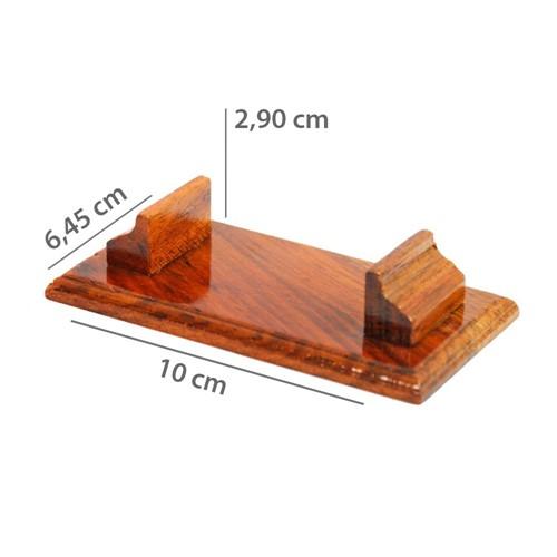 Suporte de madeira P/3 Minil. 440pg.