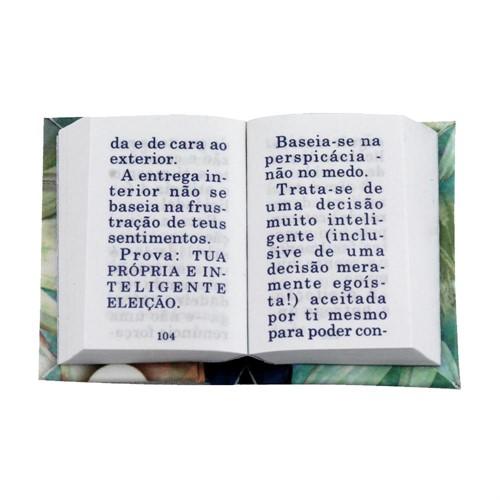 Livro Chaveiro Aprendendo a Ser Feliz