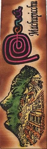 Marcador de Livro Marca Perú