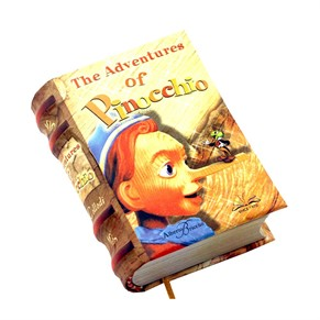The Adventures Of Pinoccho - Integral Text-Mini Book