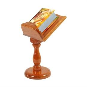 Suporte Porta Bíblia Com Pedestal P/1 Minil.