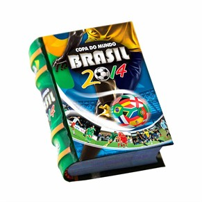 Copa Do Mundo Brasil 2014-Mini Book