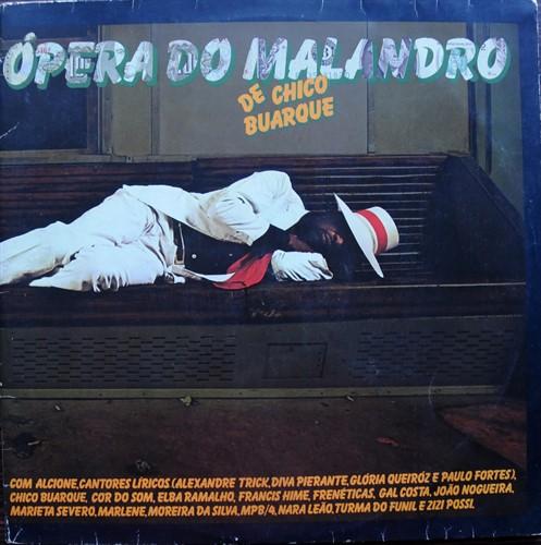 LP Chico Buarque - Ópera Do Malandro (1979) (Duplo/Usado)