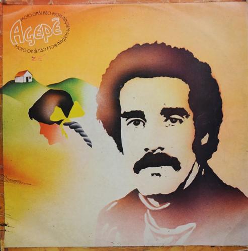 LP Agepê - Moro Onde Não Mora Ninguém (1975) (Vinil usado)