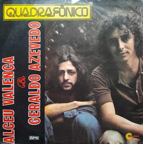 LP Alceu Valença e Geraldo Azevedo - Quadrifônico (1976) (Vinil usado)
