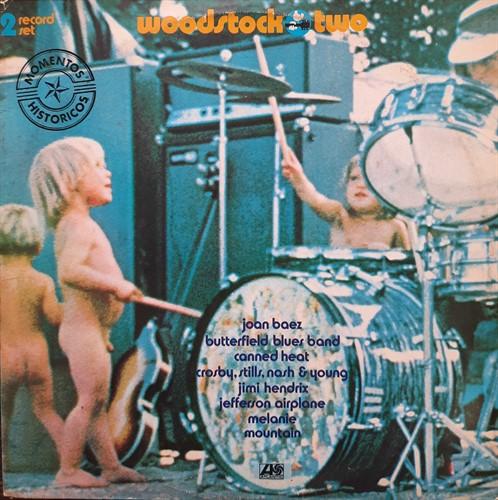 LP Vários – Woodstock Two (1969) (Vinil usado)
