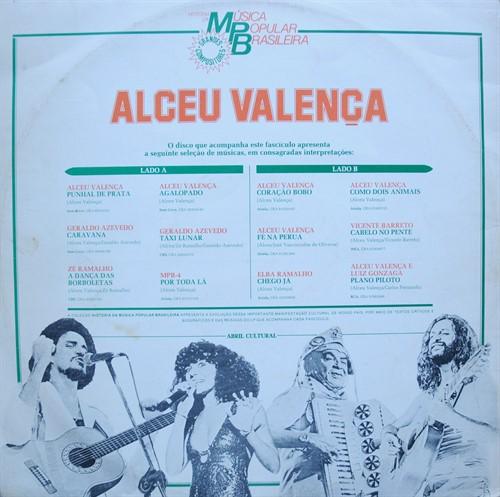 LP Alceu Valença – A História da Música Brasileira (1984) (Vinil usado)