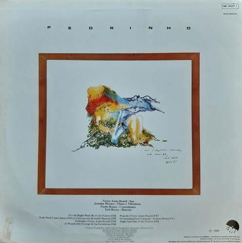 LP Victor Assis Brasil Quarteto - Pedrinho (1987) (Vinil usado)