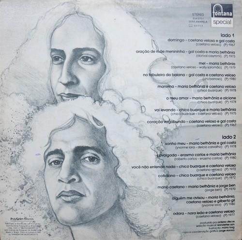 LP Bethânia, Mano Caetano e Amigos – S/T (1985) (Vinil usado)
