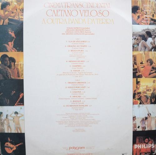 LP Caetano Veloso – Cinema Transcedental (1979) (Vinil usado)
