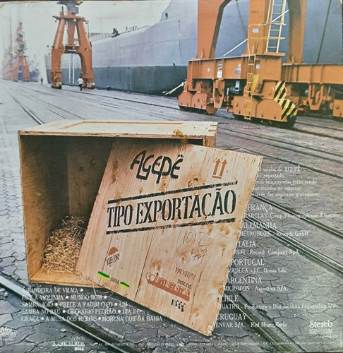 LP Agepê – Tipo Exportação (1978) (Vinil usado)