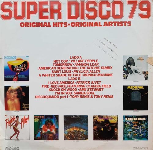 LP Vários – Super Disco 79 (1978) (Vinil usado)