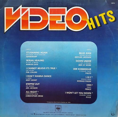 LP Vários - Video Hits (Vinil usado)