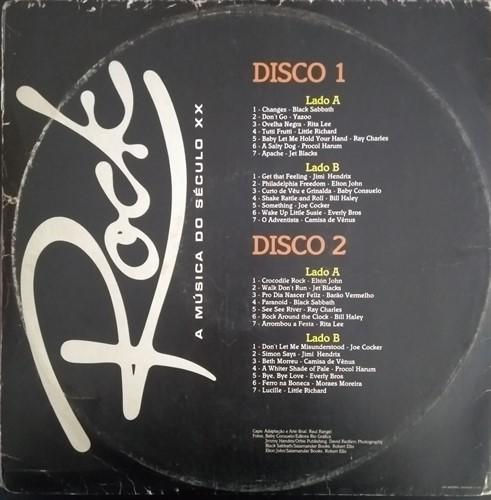 LP Vários - Rock: A Música do Século XX (1984) (Vinil usado)