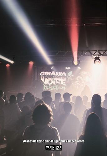 Álbum de figurinhas - 20 anos do Goiânia Noise Festival