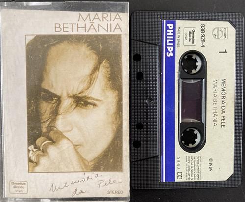 Fita K7 Maria Bethânia – Memória da Pele (Usada)