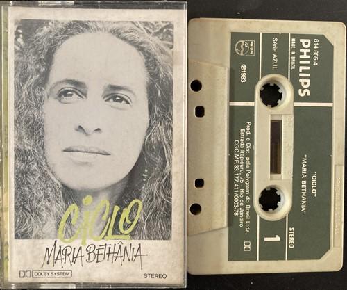 Fita K7 Maria Bethânia – Ciclo (Usada)
