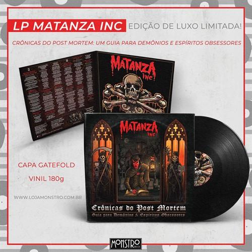 PRÉ-VENDA! LP Matanza Inc - Crônicas do Post Mortem