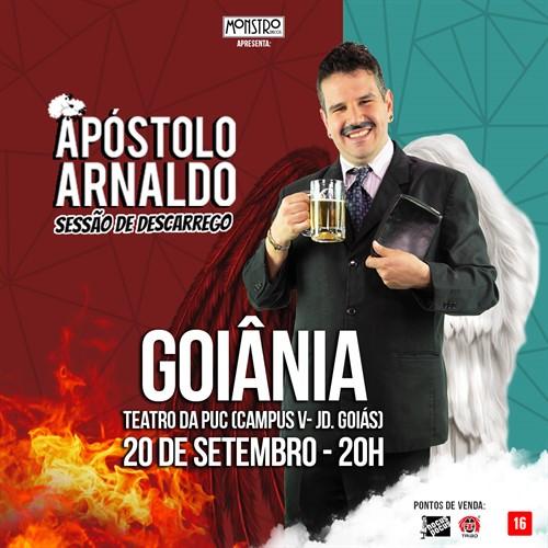 Ingresso Apóstolo Arnaldo - Plateia Inferior - Meia