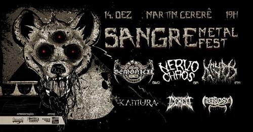 Ingresso - Sangre Metal Fest - 1º lote
