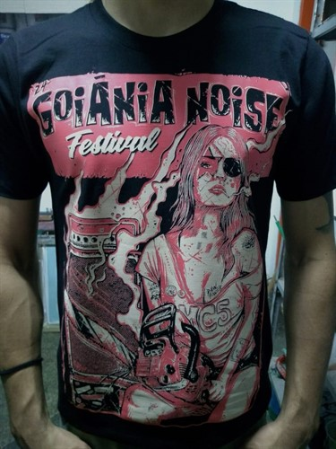 Camiseta 24º Goiânia Noise Festival - M