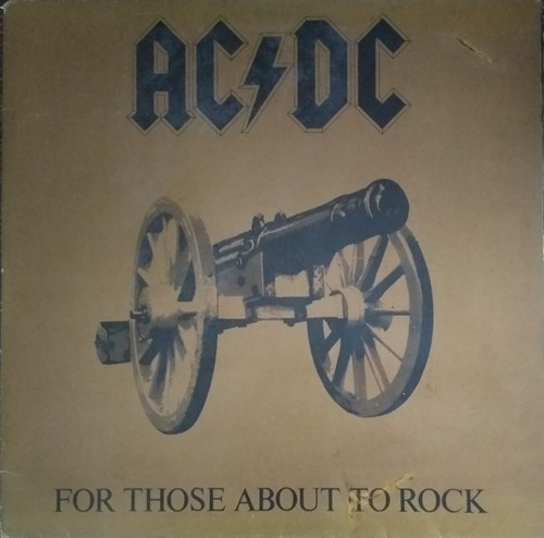 LP AC/DC – For Those About To Rock We Salute You (1982) (Vinil usado)