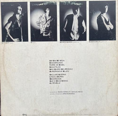 LP Barão Vermelho – Declare Guerra (1986) (Vinil usado)