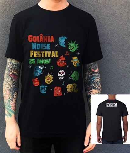 Camiseta 25º Goiânia Noise - Tamanho G