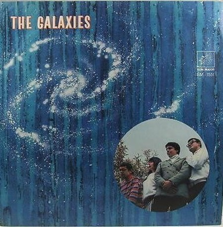 LP The Galaxies - 1968