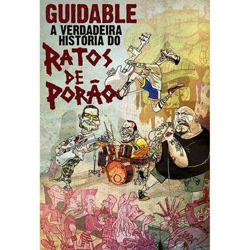 DVD Guidable - A Verdadeira História do Ratos de Porão