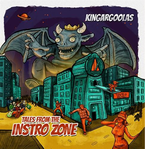 LP KINGARGOOLAS - TALES FROM THE INSTRO ZONE LP