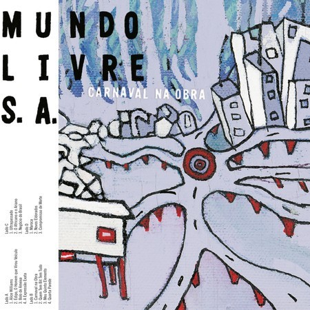 LP MUNDO LIVRE S/A - CARNAVAL NA OBRA (VINIL DUPLO) (NOVO/LACRADO)