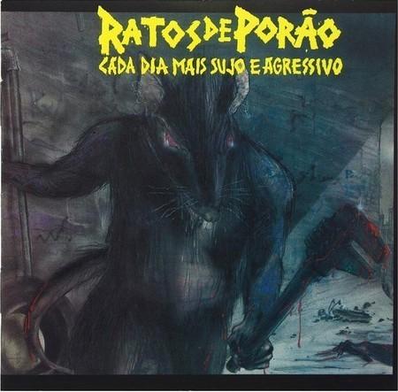 LP RATOS DE PORÃO - CADA DIA MAIS SUJO E AGRESSIVO (180 gramas)