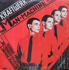 LP Kraftwerk – The Man Machine (1978) (Vinil usado)