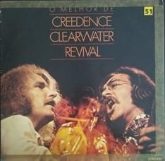 LP Creedence Clearwater Revival – O Melhor de... (1982) (Vinil usado)