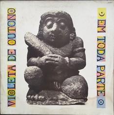 LP Violeta de Outono - Em Toda Parte (1989) (Vinil usado)