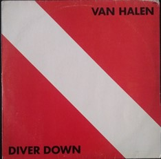 LP Van Halen - Diver Down (1988) (Vinil usado)