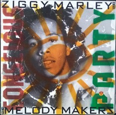 LP Ziggy Marley and the Melody Makers – Conscious Party (1988) (Vinil usado)