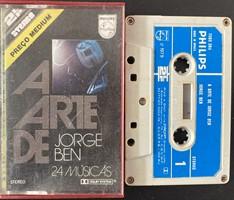 Fita K7 Jorge Ben –A Arte de... (Usada)