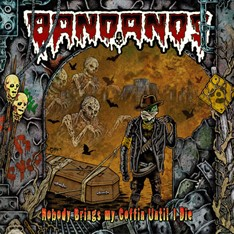 LP BANDANOS - NOBODY BRINGS MY COFFIN UNTIL I DIE (CAPA GATEFOLD)