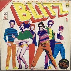 LP Blitz – As Aventuras da Blitz (1982) (Vinil usado)