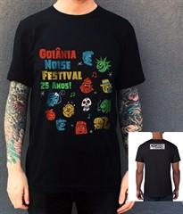 Camiseta 25º Goiânia Noise - Tamanho GG